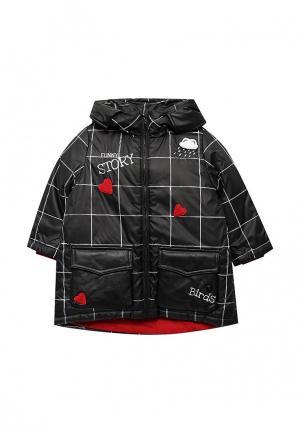 Куртка утепленная Gulliver. Цвет: черный