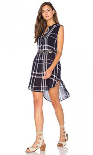 Платье jules Rails. Цвет: синий