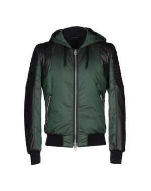 Куртка YES LONDON. Цвет: изумрудно-зеленый