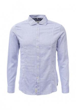 Рубашка Gianni Lupo. Цвет: синий