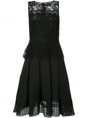 Платье Gloria Sachin And Babi. Цвет: чёрный