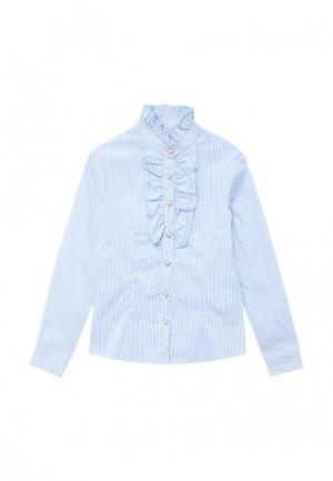 Блуза Acoola. Цвет: голубой