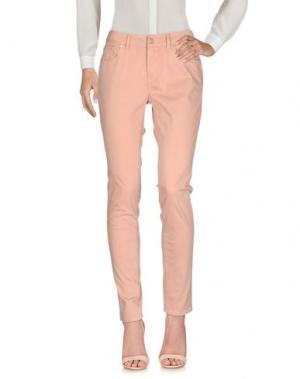 Повседневные брюки CIMARRON. Цвет: телесный