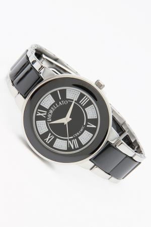 Часы наручные Morellato. Цвет: серебристый, черный