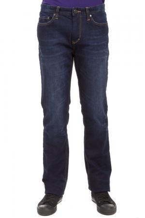 Классические джинсы Just Valeri. Цвет: синий