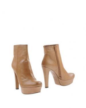 Полусапоги и высокие ботинки LODI. Цвет: верблюжий