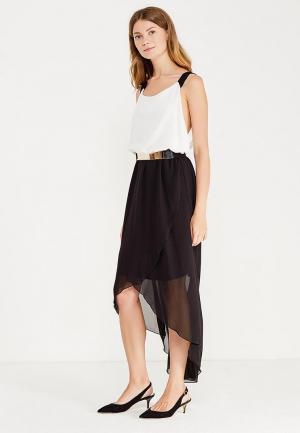 Платье Modis. Цвет: черно-белый