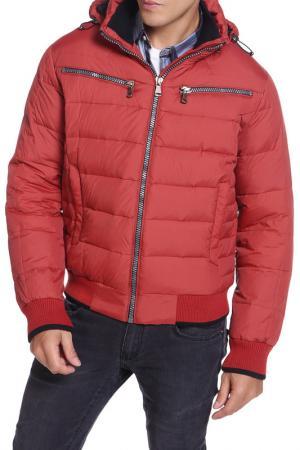 Куртка HARTWEAR. Цвет: коричневый