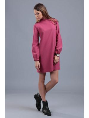 Платье ЭНСО. Цвет: малиновый