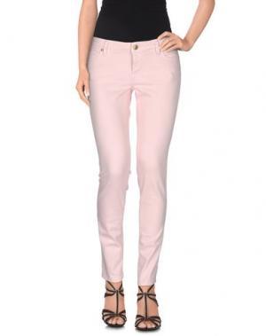 Джинсовые брюки TRUE NYC.. Цвет: светло-розовый