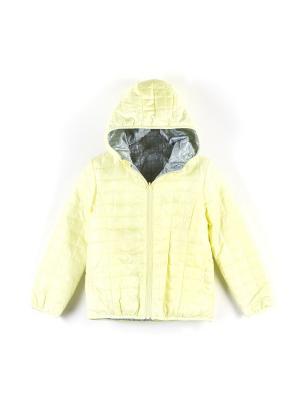 Куртка Coccodrillo. Цвет: серый,желтый