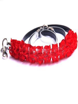 Поводок Doggy Style. Цвет: красный