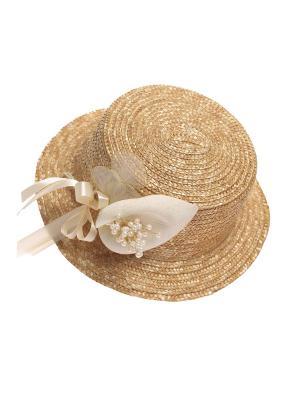Шляпа Solorana. Цвет: молочный