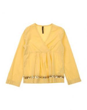 Блузка MANILA GRACE. Цвет: желтый