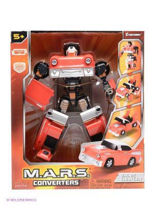 Робот трансформер Hap-P-Kid. Цвет: красный, серый, черный