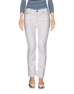 Джинсовые брюки BOSS ORANGE. Цвет: белый