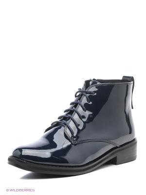 Ботинки CARLO BELLINI. Цвет: синий