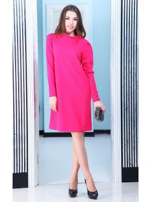 Платье Lussotico. Цвет: фуксия
