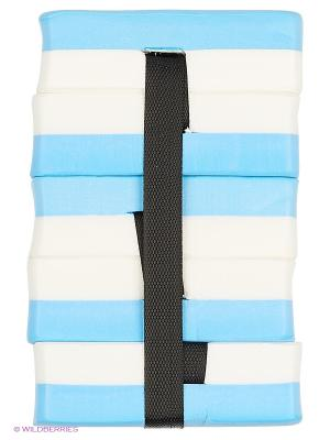 Пояс секционный для обучения плаванию AquaFitness YP-10B Larsen. Цвет: голубой, белый, черный