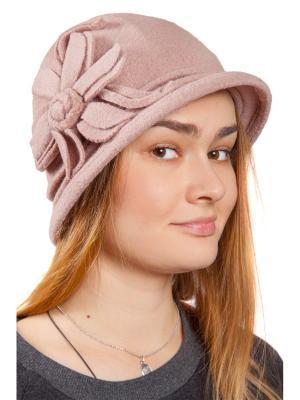 Шляпа Three S. Цвет: светло-коричневый