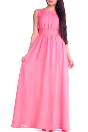 Платье Laura Bettini. Цвет: светло-коралловый