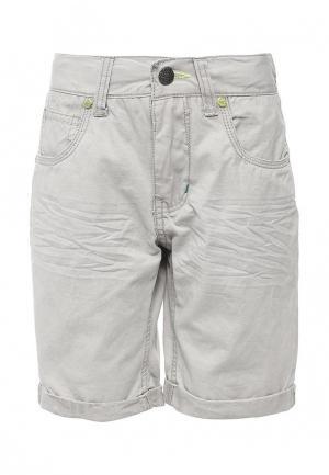 Шорты джинсовые E-Bound. Цвет: серый