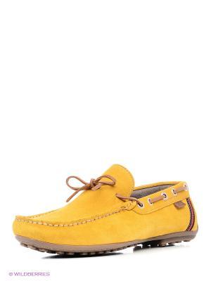 Мокасины XTI. Цвет: желтый