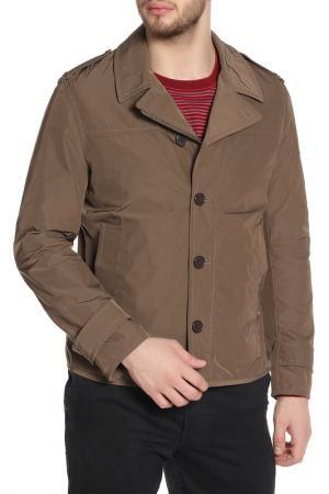 Куртка Strellson. Цвет: коричневый