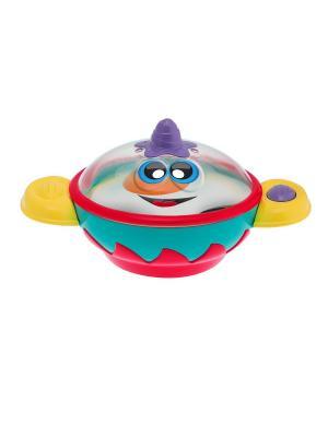 Музыкальная игрушка Кастрюлька CHICCO. Цвет: голубой, желтый, красный
