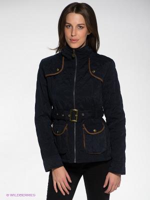 Куртка Siempre es Viernes. Цвет: темно-синий, темно-коричневый