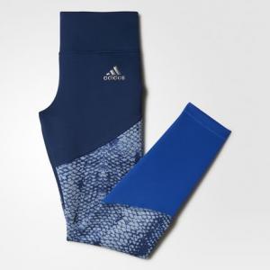 Леггинсы WOW  Performance adidas. Цвет: синий