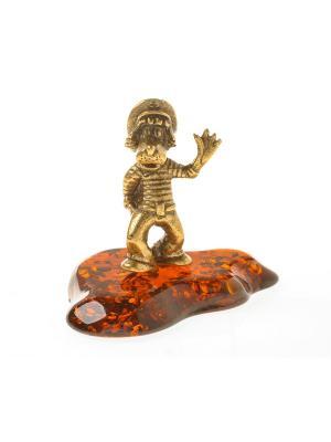 Фигура Волк Ну погоди Aztek. Цвет: желтый, коричневый, светло-оранжевый