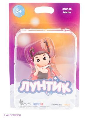 Милая Мила  серия Лунтик и его друзья ProstoToys. Цвет: красный, белый, коричневый