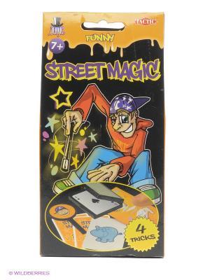 Набор фокусов Уличная магия 3 Tactic Games. Цвет: черный, оранжевый