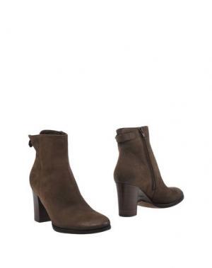 Полусапоги и высокие ботинки ALTO GRADIMENTO. Цвет: свинцово-серый