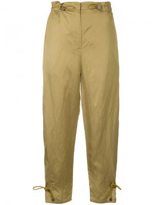 Укороченные брюки Manning Cartell. Цвет: металлический