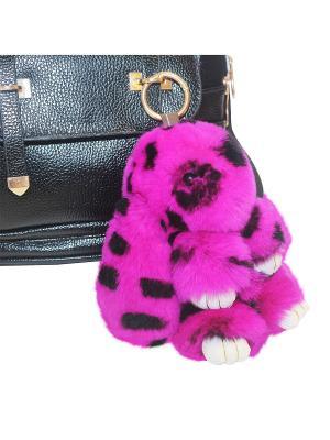 Кролик-брелок GOOD MOOD коллекция: LUX. Цвет: розовый