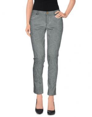 Джинсовые брюки SUPERFINE. Цвет: зеленый