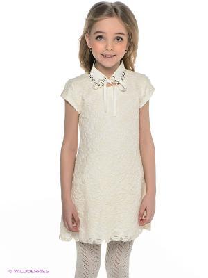 Платье Wojcik. Цвет: кремовый