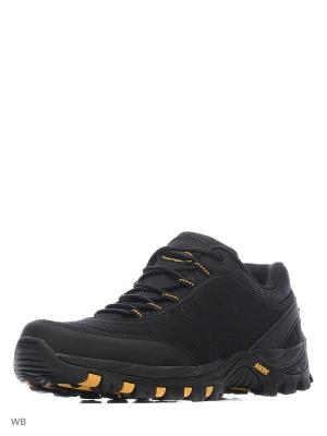 Кроссовки MOONSCAPE Ascot. Цвет: черный, желтый