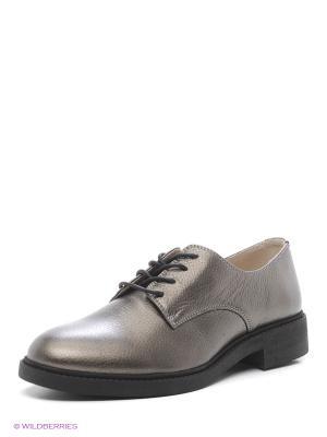 Туфли HCS. Цвет: бронзовый