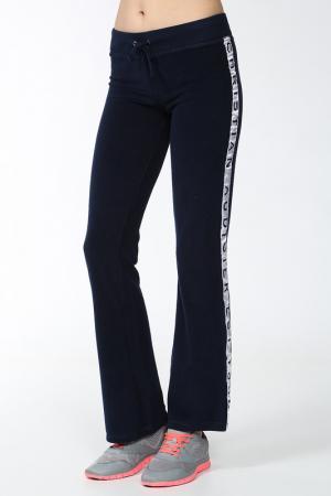 Спортивные брюки Christian Audigier. Цвет: синий