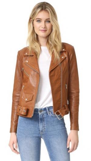 Классическая куртка Jayne VEDA. Цвет: бурбон