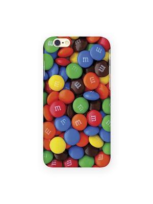 Чехол для IPhone 6 Драже Mitya Veselkov. Цвет: синий, красный, желтый