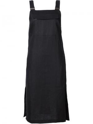 Платье с карманом спереди Nomia. Цвет: чёрный