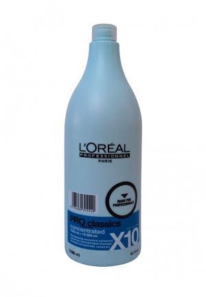Шампунь концентрированный очищающий LOreal Professional L'Oreal. Цвет: голубой