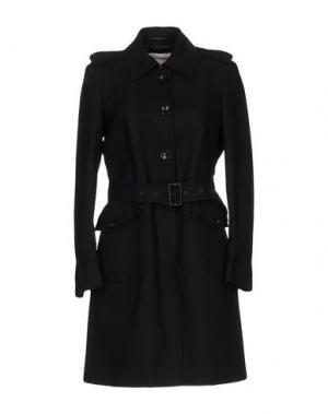 Легкое пальто CALVARESI. Цвет: черный