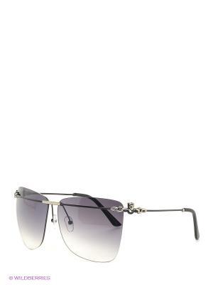 Солнцезащитные очки Selena. Цвет: черный, серебристый