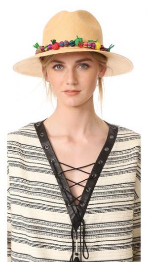 Шляпа Bonita Valdez. Цвет: карамельный/мульти