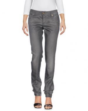 Джинсовые брюки GUCCI. Цвет: серый